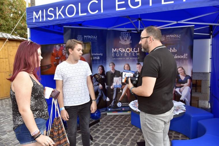 Miskolci Egyetem a Kerekdomb Fesztiválon!